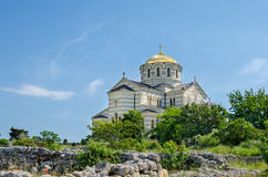 Vladimir Cathedral Lizenzfreies Stockbild