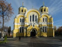 Vladimir Cathedral Kiev Stock Photos