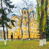 Vladimir Cathedral - the main church Stock Photography