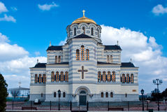 The Vladimir cathedral in Sevastopol Royalty Free Stock Photo