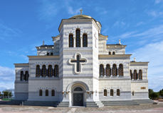 The Vladimir cathedral in Sevastopol Royalty Free Stock Photos