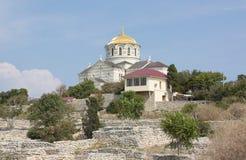 Vladimir Cathedral Sevastopol Crimea royaltyfri fotografi