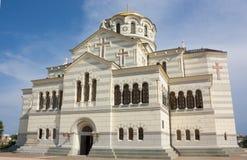Vladimir Cathedral Sevastopol Crimea arkivbild