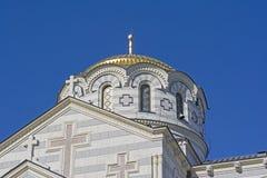 The Vladimir cathedral in Sevastopol Royalty Free Stock Photo