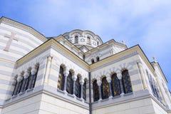 The Vladimir cathedral in Sevastopol Stock Image
