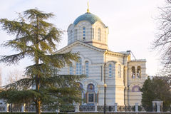 The Vladimir cathedral in Sevastopol Stock Photography
