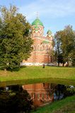 The Vladimir cathedral of the Spaso-Borodino monas Royalty Free Stock Photography