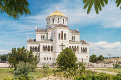 Vladimir Cathedral in Tauric Chersonesos, Sevastopol city Stock Image