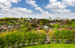 Vladimir city, Russia. View of old district of Vladimir city, Russia royalty free stock image