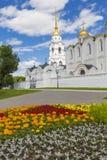 VLADIMIR - CZERWIEC 05, 2016: Wniebowzięcie katedra przy Vladimir w su Obrazy Stock
