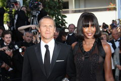 Vladimir Doronin et Naomi Campbell Image stock