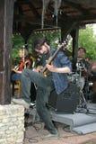 Vladimir Gochua le guitariste de la bande T a M Photos libres de droits
