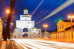 Vladimir golden gate Stock Photo