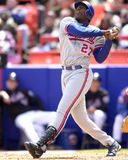 Vladimir Guerrero, Montreal Expos. Montreal Expos OF Vladimir Guerrero.  (image taken from color slide Royalty Free Stock Image