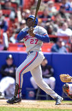 Vladimir Guerrero. Montreal Expos OF Vladimir Guerrero. (Image taken from color slide Royalty Free Stock Photos