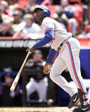 Vladimir Guerrero. Montreal Expos OF Vladimir Guerrero, #27.  (Image taken from color slide Stock Photo