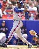 Vladimir Guerrero, Montreal Expos. Montreal Expos superstar slugger Vladimir Guerrero.  (image taken from color slide Royalty Free Stock Photography