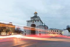 Vladimir guld- port Arkivbilder
