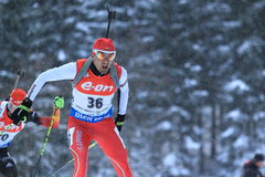 Vladimir Iliev - biathlon Stock Images