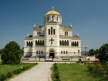 Vladimir katedra Zdjęcie Stock