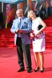 Vladimir Khotinenko at Moscow Film Festival Stock Photos