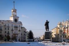 Vladimir Lenin Monument Imagens de Stock