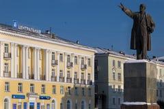Vladimir Lenin Monument Royalty Free Stock Photos