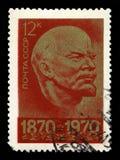 Vladimir Lenin Russian Postage Stamp Imagens de Stock Royalty Free