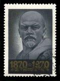 Vladimir Lenin Russian Postage Stamp Fotografia de Stock Royalty Free