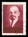 Vladimir Lenin Russian Postage Stamp Imagem de Stock Royalty Free