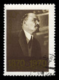 Vladimir Lenin Russian Postage Stamp Photographie stock