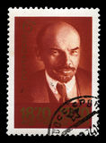 Vladimir Lenin Russian Postage Stamp Foto de Stock Royalty Free