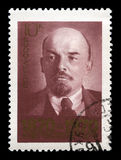 Vladimir Lenin Russian Postage Stamp Royalty Free Stock Images