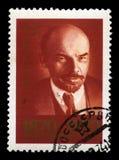 Vladimir Lenin Russian Postage Stamp Royalty Free Stock Photo