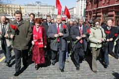 vladimir lenin s годовщины Стоковая Фотография