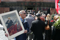 Vladimir Lenin's anniversary Royalty Free Stock Images