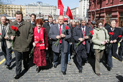 Vladimir Lenin's anniversary Stock Photography