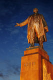 Vladimir Lenin statue monument Stock Photos