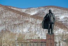 Vladimir Lenin statue monument Stock Image