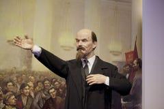 Vladimir Lenin wax portrait. In Dalian Golden Pebble Beach Wax Museum Stock Images