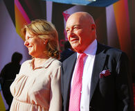 Vladimir Pozner at Moscow Film Festival Stock Photography