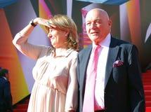 Vladimir Pozner at Moscow Film Festival Royalty Free Stock Image