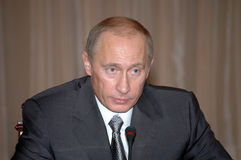 Vladimir Putin fotos de stock royalty free