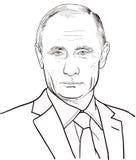 Vladimir Putin Stockbilder