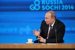 Vladimir Putin stock foto's