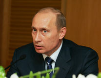Vladimir Putin Royalty Free Stock Photography