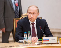 Vladimir Putin Imagens de Stock Royalty Free