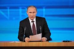 Vladimir Putin Stockfotos