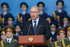 Vladimir Putin Fotografia Stock