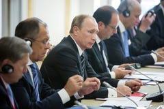 Vladimir Putin Foto de Stock Royalty Free